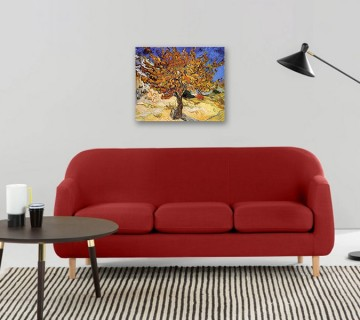 Mulberry Tree 1889 Art Canvas