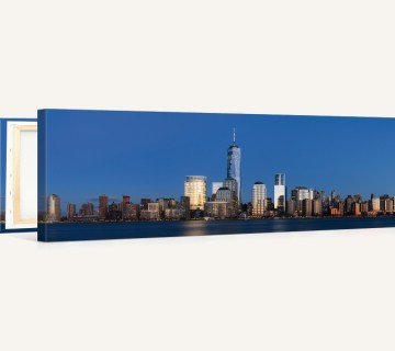Lower Manhattan from Jersey City Panoramic