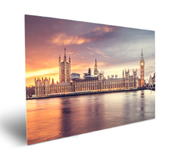 Most Famous Elizabeth Tower London Gothic Revival Architecture Wall Art