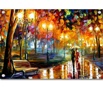 Rains Rustle I Canvas Artwork by Leonid Afremov