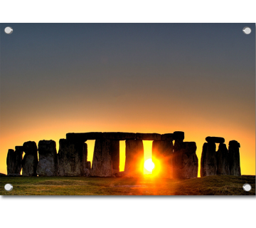 Stone Henge Sunset Located in England