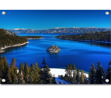 Tranquil Emerald Bay South Lake Tahoe California USA