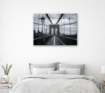 Brooklyn Bridge Walk New York Wall Art