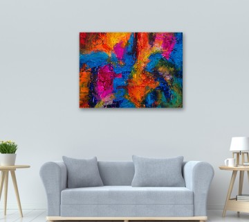 Abstract Multicolur Canvas