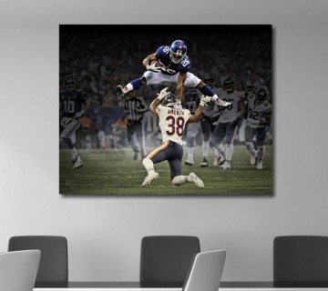 Saquon Barkley Trace McSorley Penn State Nittany Lions Canvas frame / Acrylic Print