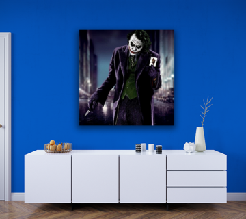 Joker Canvas Prints