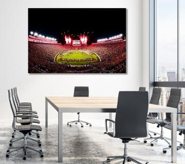 Florida State Football Doak Campbell Stadium FSU Seminoles Canvas frame / Acrylic Print