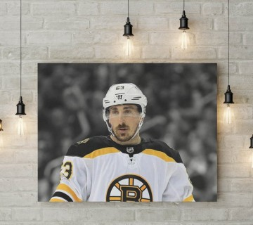 Brad Marchand The Pest 2011 Stanley Cup Finals Hit on Sedin Canvas Frame / Acrylic Print