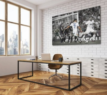 Cristiano Ronaldo Soccer Stretched Canvas frame / Acrylic Print