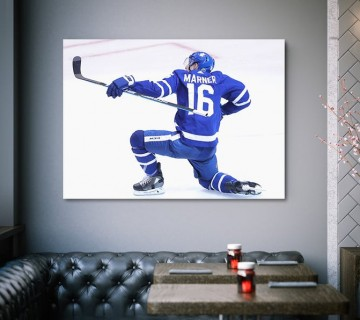 Mitch Marner Toronto's Kid Toronto Maple Leafs NHL Canvas frame / Acrylic Print