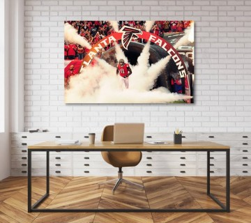 Julio Jones Atlanta Falcons Legend Canvas frame / Acrylic Print