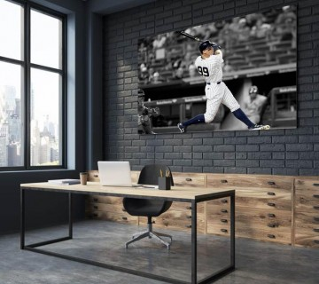 Aaron Judge New York Yankees MLB Canvas frame