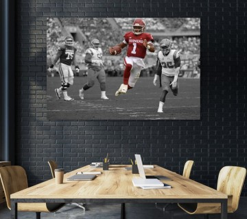 Kyler Murray Oklahoma Sooners Canvas frame