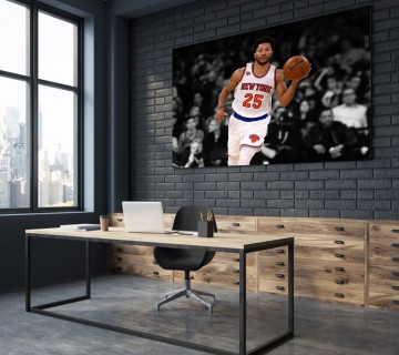 Derrick Rose final Basketball Stretched Canvas Frame / Acrylic Print