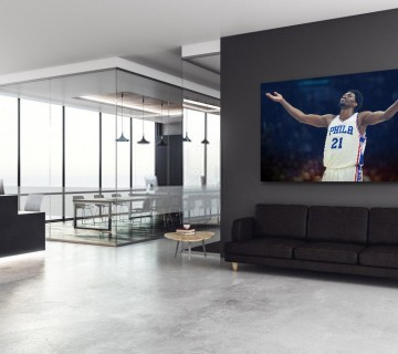 Joel Embiid trust the process Philadelphia Canvas frame / Acrylic Print