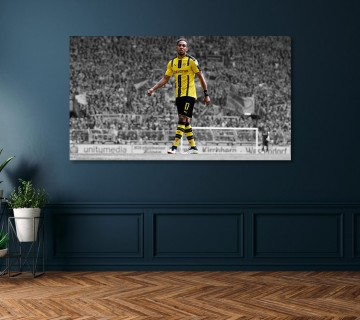 Pierre-Emerick Aubameyang Black Panther Celebration Arsenal FC Canvas frame / Acrylic Print