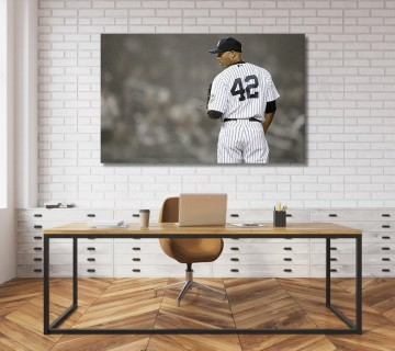 Mariano Rivera New York Yankees Enter Sandman Canvas frame