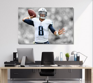 Marcus Mariota Tennessee Titans Stretched Canvas frame / Acrylic Print