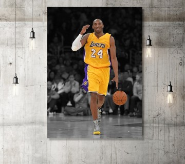 Kobe Bryant Impossible Last Shot Classic Basketball Sports Canvas frame / Acrylic Print