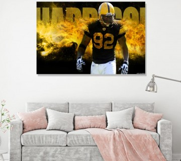 James Harrison Motivational Canvas Frame, Canvas wall art / Acrylic Print