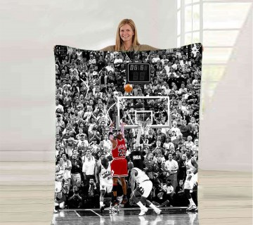 Michael Jordan Fleece Blanket, Sports Player Blanket, Ultra Soft Fleece Blanket, Throw Blanket
