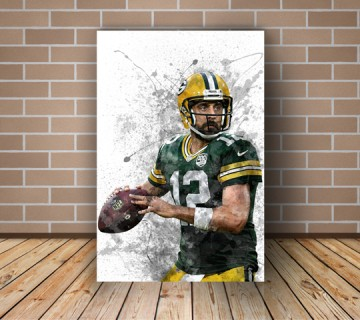 Aaron Rodgers American football quarterback  Splash Effect